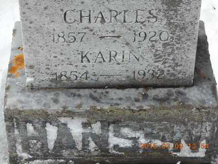 HANSEN, KARIN - Marquette County, Michigan   KARIN HANSEN - Michigan Gravestone Photos