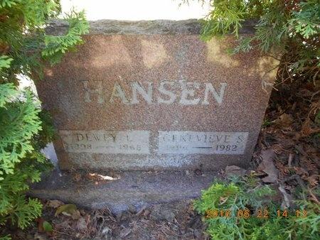 HANSEN, DEWEY L. - Marquette County, Michigan | DEWEY L. HANSEN - Michigan Gravestone Photos