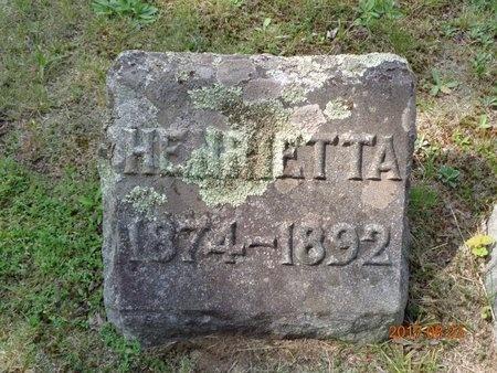 HANSEN, HENRIETTA - Marquette County, Michigan | HENRIETTA HANSEN - Michigan Gravestone Photos