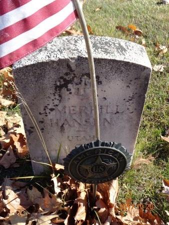HANSEN, J. MERRILL - Marquette County, Michigan | J. MERRILL HANSEN - Michigan Gravestone Photos