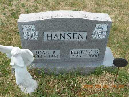 HANSEN, BERTHAL G. - Marquette County, Michigan | BERTHAL G. HANSEN - Michigan Gravestone Photos