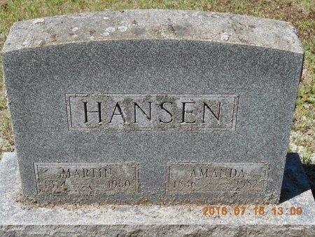 HANSEN, AMANDA - Marquette County, Michigan | AMANDA HANSEN - Michigan Gravestone Photos