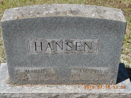 HANSEN, MARTIN - Marquette County, Michigan | MARTIN HANSEN - Michigan Gravestone Photos