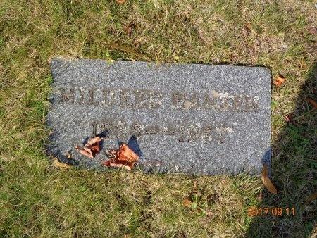 HANSEN, MILDRED - Marquette County, Michigan   MILDRED HANSEN - Michigan Gravestone Photos