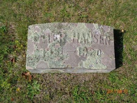 HANSEN, PETER - Marquette County, Michigan | PETER HANSEN - Michigan Gravestone Photos