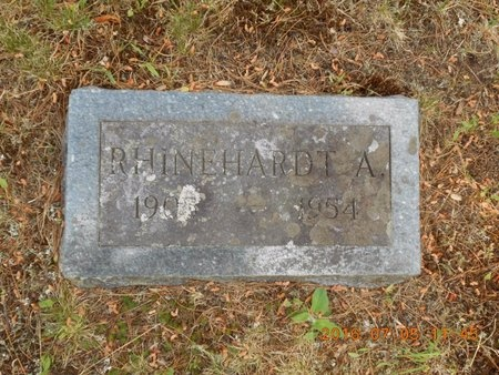 HANSEN, RHINEHARDT A. - Marquette County, Michigan | RHINEHARDT A. HANSEN - Michigan Gravestone Photos