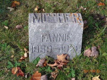 HEARD, FANNIE - Marquette County, Michigan | FANNIE HEARD - Michigan Gravestone Photos