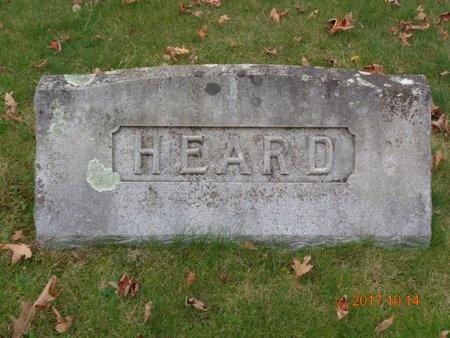 HEARD, FAMILY - Marquette County, Michigan | FAMILY HEARD - Michigan Gravestone Photos