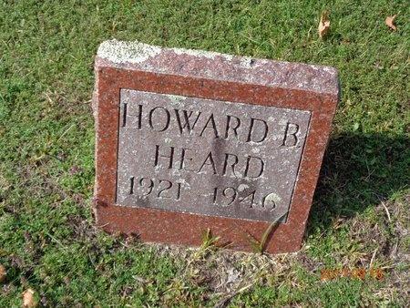 HEARD, HOWARD B. - Marquette County, Michigan | HOWARD B. HEARD - Michigan Gravestone Photos