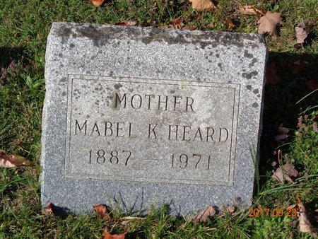 HEARD, MABEL K. - Marquette County, Michigan | MABEL K. HEARD - Michigan Gravestone Photos
