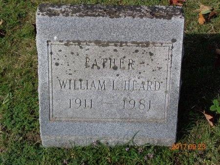 HEARD, WILLIAM L. - Marquette County, Michigan | WILLIAM L. HEARD - Michigan Gravestone Photos