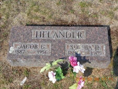 HELANDER, SOPHIA H. - Marquette County, Michigan | SOPHIA H. HELANDER - Michigan Gravestone Photos