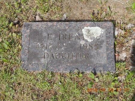 HOCKING, E. IRENE - Marquette County, Michigan | E. IRENE HOCKING - Michigan Gravestone Photos