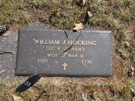 HOCKING, WILLIAM J. - Marquette County, Michigan | WILLIAM J. HOCKING - Michigan Gravestone Photos