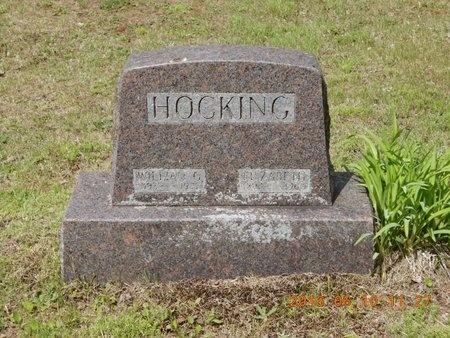HOCKING, ELIZABETH - Marquette County, Michigan   ELIZABETH HOCKING - Michigan Gravestone Photos