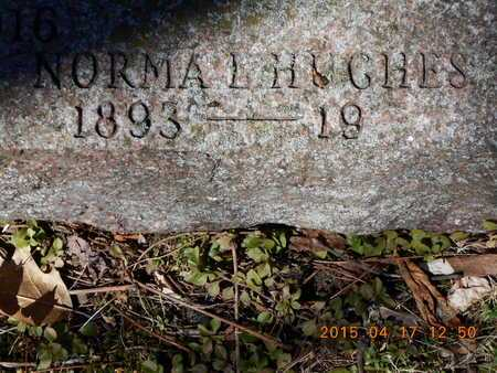 HUGHES, NORMA L. - Marquette County, Michigan | NORMA L. HUGHES - Michigan Gravestone Photos