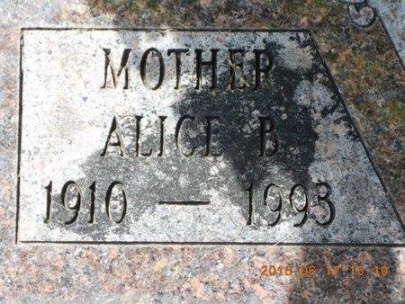 JOHNS, ALICE B. - Marquette County, Michigan | ALICE B. JOHNS - Michigan Gravestone Photos