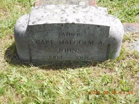 JOHNS, CAPT. MALCOLM A. - Marquette County, Michigan | CAPT. MALCOLM A. JOHNS - Michigan Gravestone Photos