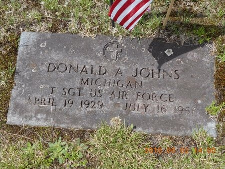 JOHNS, DONALD A. - Marquette County, Michigan | DONALD A. JOHNS - Michigan Gravestone Photos
