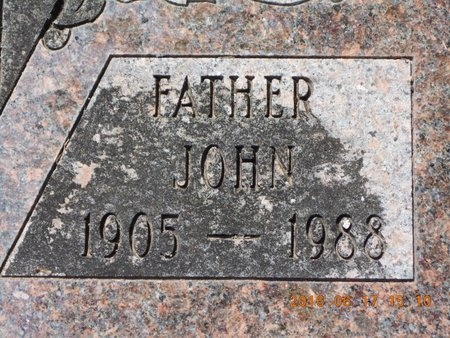 JOHNS, JOHN - Marquette County, Michigan | JOHN JOHNS - Michigan Gravestone Photos