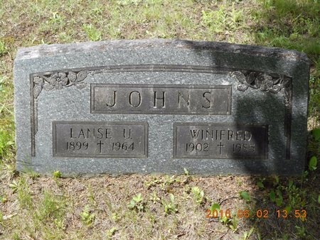 JOHNS, WINIFRED - Marquette County, Michigan | WINIFRED JOHNS - Michigan Gravestone Photos