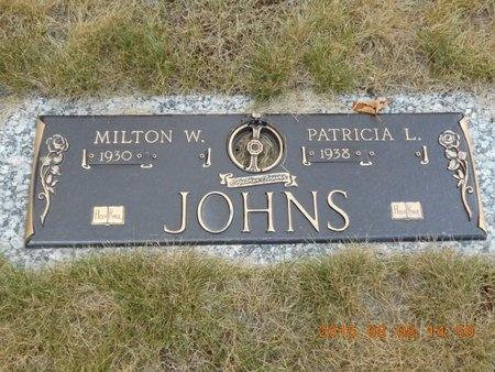 JOHNS, MILTON W. - Marquette County, Michigan | MILTON W. JOHNS - Michigan Gravestone Photos