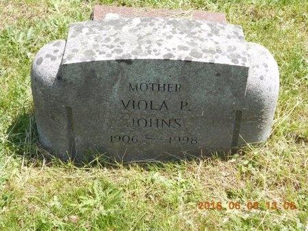 JOHNS, VIOLA - Marquette County, Michigan   VIOLA JOHNS - Michigan Gravestone Photos