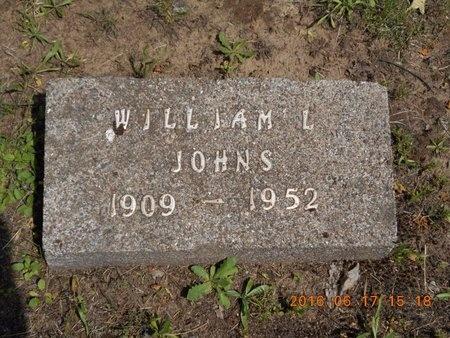 JOHNS, WILLIAM L. - Marquette County, Michigan | WILLIAM L. JOHNS - Michigan Gravestone Photos