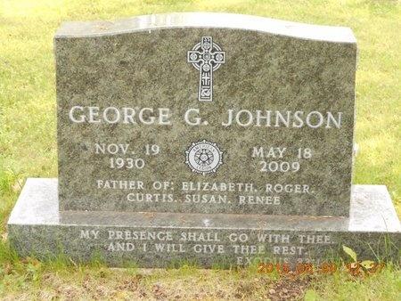 JOHNSON, GEORGE G. - Marquette County, Michigan   GEORGE G. JOHNSON - Michigan Gravestone Photos