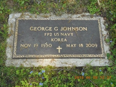 JOHNSON, GEORGE G. - Marquette County, Michigan | GEORGE G. JOHNSON - Michigan Gravestone Photos