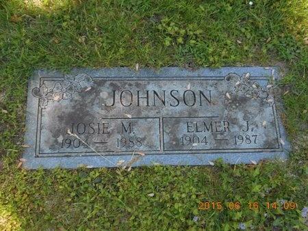 JOHNSON, ELMER J. - Marquette County, Michigan | ELMER J. JOHNSON - Michigan Gravestone Photos
