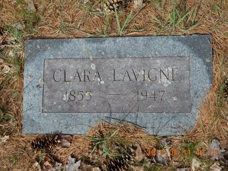LAVIGNE, CLARA - Marquette County, Michigan | CLARA LAVIGNE - Michigan Gravestone Photos
