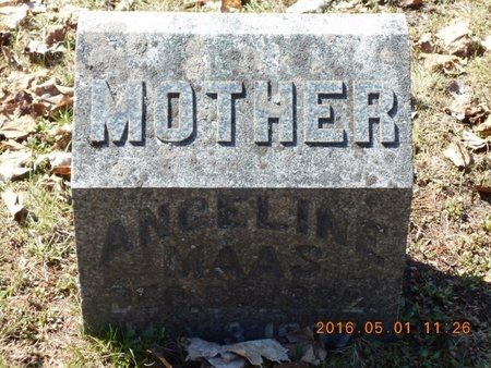 MAAS, ANGELINE - Marquette County, Michigan | ANGELINE MAAS - Michigan Gravestone Photos