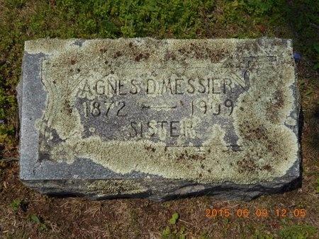 MESSIER, AGNES - Marquette County, Michigan | AGNES MESSIER - Michigan Gravestone Photos
