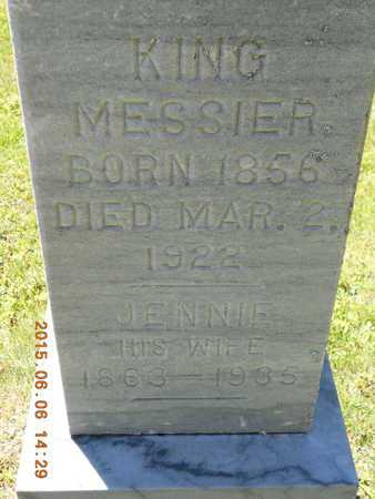 MESSIER, JENNIE - Marquette County, Michigan | JENNIE MESSIER - Michigan Gravestone Photos