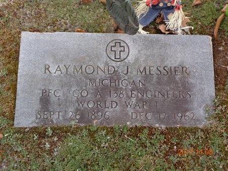 MESSIER, RAYMOND J. - Marquette County, Michigan   RAYMOND J. MESSIER - Michigan Gravestone Photos