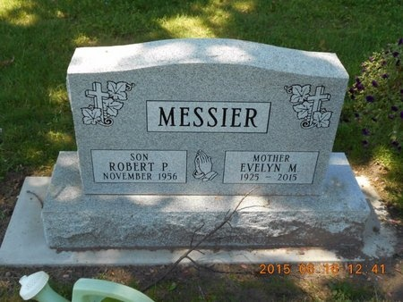 MESSIER, EVELYN M. - Marquette County, Michigan | EVELYN M. MESSIER - Michigan Gravestone Photos