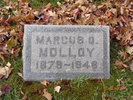 MOLLOY, MARCUS Q. - Marquette County, Michigan   MARCUS Q. MOLLOY - Michigan Gravestone Photos
