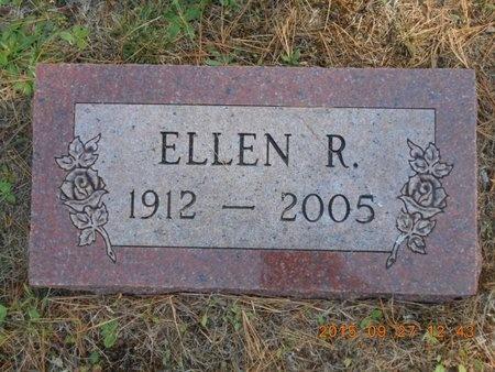 NICHOLAS, ELLEN R. - Marquette County, Michigan | ELLEN R. NICHOLAS - Michigan Gravestone Photos