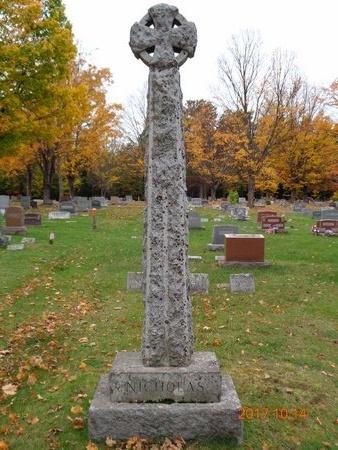 NICHOLAS, FAMILY - Marquette County, Michigan | FAMILY NICHOLAS - Michigan Gravestone Photos