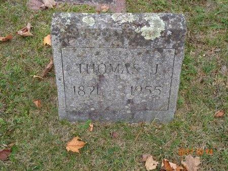 NICHOLAS, THOMAS J. - Marquette County, Michigan | THOMAS J. NICHOLAS - Michigan Gravestone Photos