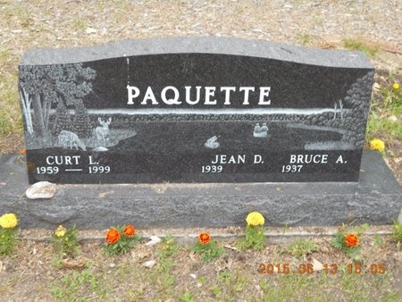 PAQUETTE, BRUCE A. - Marquette County, Michigan | BRUCE A. PAQUETTE - Michigan Gravestone Photos