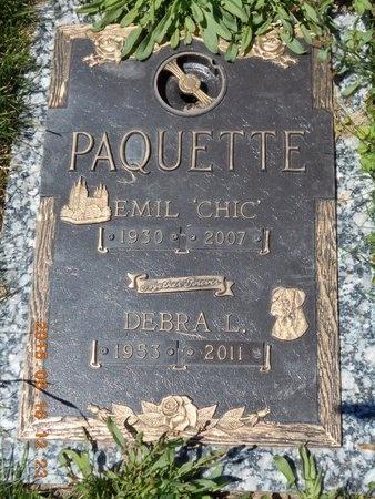 PAQUETTE, DEBRA L. - Marquette County, Michigan | DEBRA L. PAQUETTE - Michigan Gravestone Photos