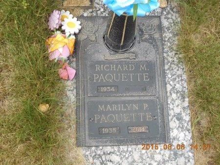 PAQUETTE, MARILYN P. - Marquette County, Michigan | MARILYN P. PAQUETTE - Michigan Gravestone Photos