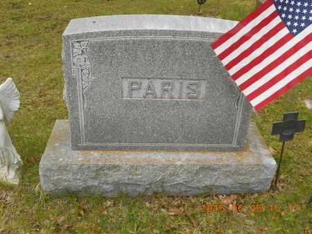 PARIS, FAMILY - Marquette County, Michigan | FAMILY PARIS - Michigan Gravestone Photos