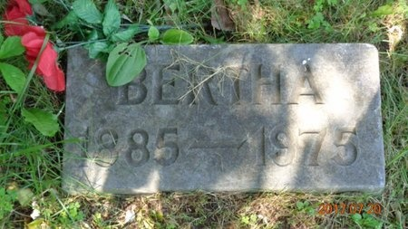 PEPIN, BERTHA - Marquette County, Michigan | BERTHA PEPIN - Michigan Gravestone Photos
