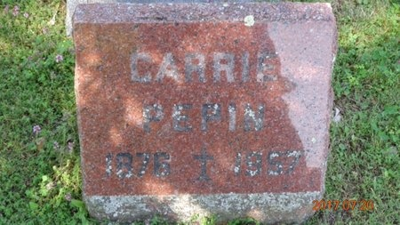 PEPIN, CARRIE - Marquette County, Michigan | CARRIE PEPIN - Michigan Gravestone Photos