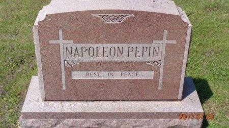 PEPIN, NAPOLEON - Marquette County, Michigan | NAPOLEON PEPIN - Michigan Gravestone Photos