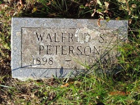 PETERSON, WALFRED S. - Marquette County, Michigan | WALFRED S. PETERSON - Michigan Gravestone Photos