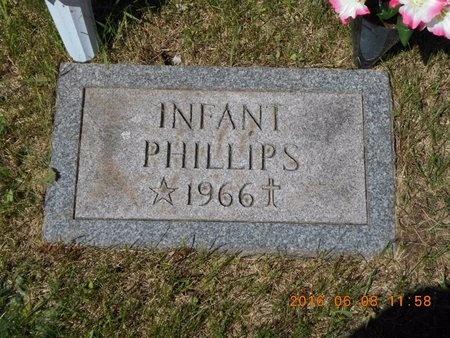 PHILLIPS, INFANT - Marquette County, Michigan | INFANT PHILLIPS - Michigan Gravestone Photos